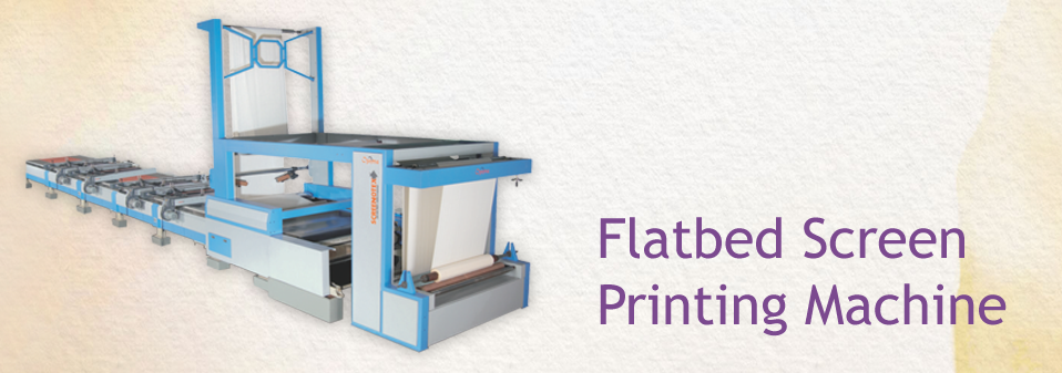 Textile Printing Machine Manufcaturer in Ahmedabad, Gujarat, India